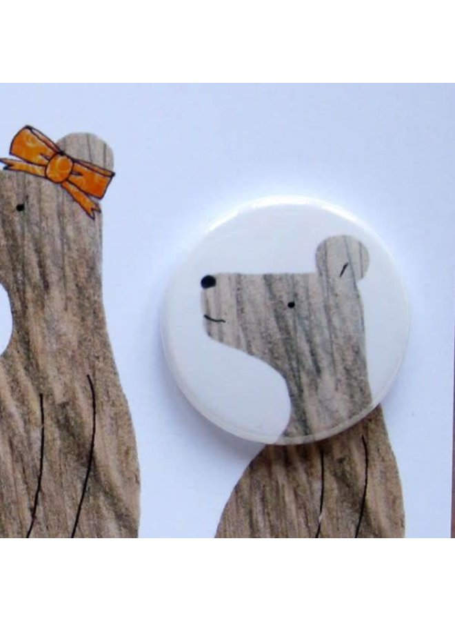 3 Bears Badge Card