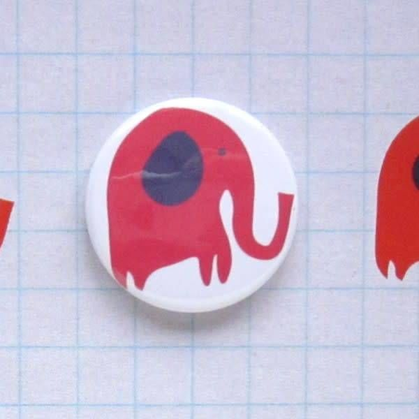 3 Elephants Badge Card