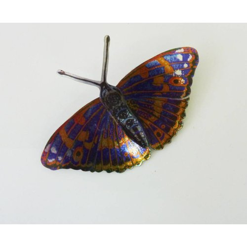 Melanie Tomlinson Butterfly Brooch BB6 71x48mm