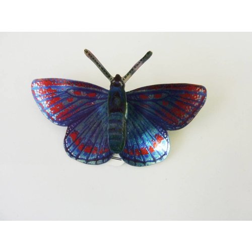 Melanie Tomlinson Butterfly Brooch BB12 71x46mm