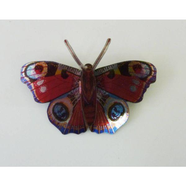 Butterfly Enamel Brooch