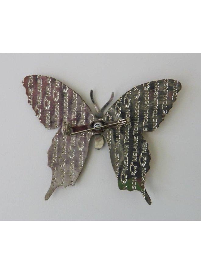 Butterfly Brooch BB2 66x53mm