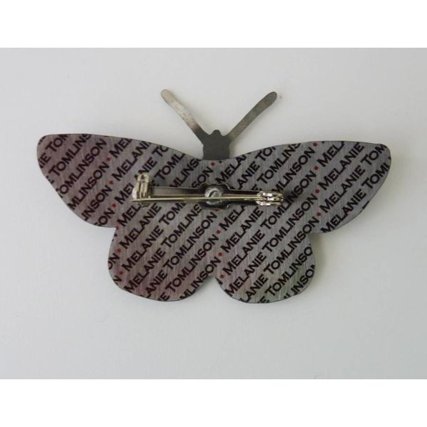 Butterfly Brooch BB13 80x42mm