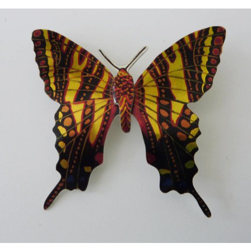 Melanie Tomlinson Butterfly Brooch BB19 60x55mm