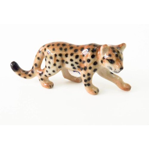 And Mary Leopard striding