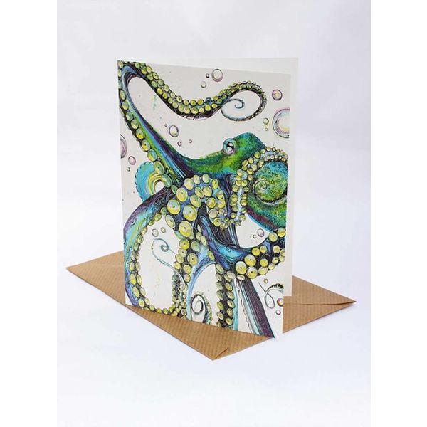 Octopus card 5 x 10 cm
