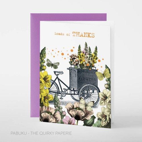 Pabuku Loads of Thanks card