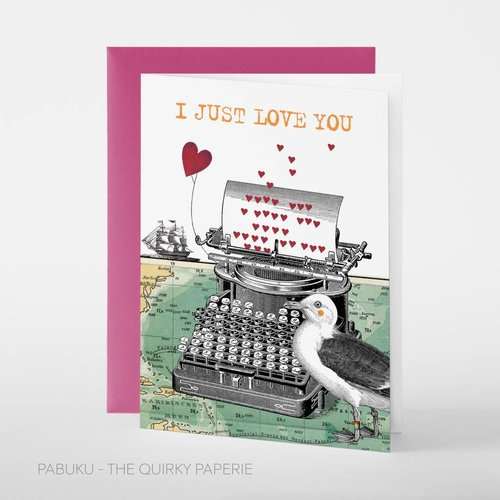 Pabuku Just Love You card