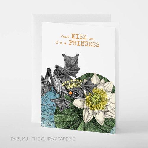 Pabuku Kiss Princess card