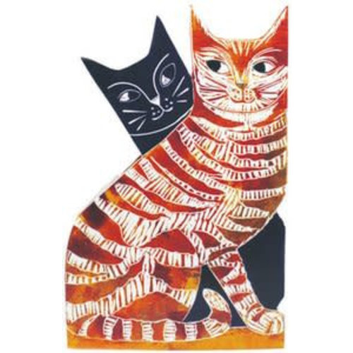 Judy Lumley Love Cats 3D Card
