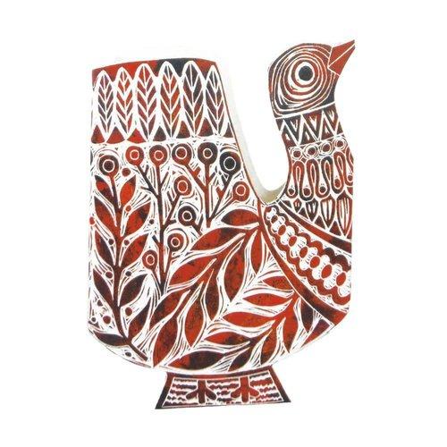 Judy Lumley Folk Bird 3D Card
