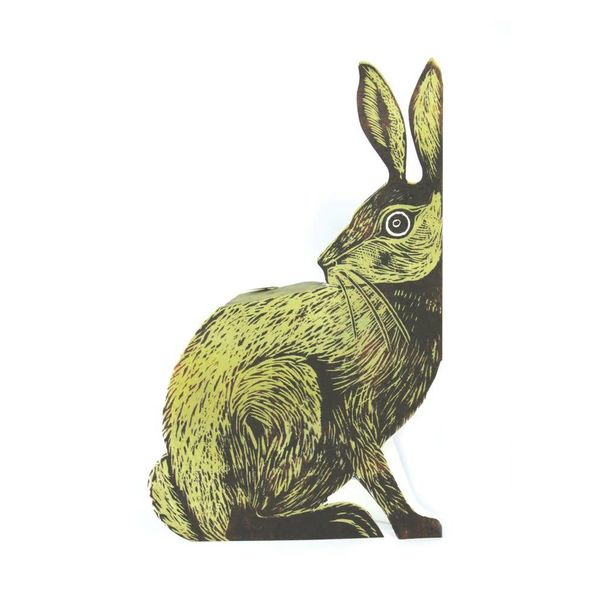 Earthen Hare 3D Card