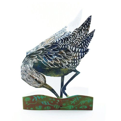 Judy Lumley Curlew 3D Card