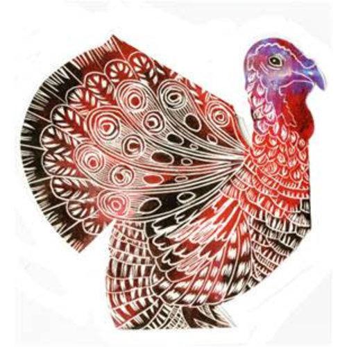 Judy Lumley Turkey 3D Card