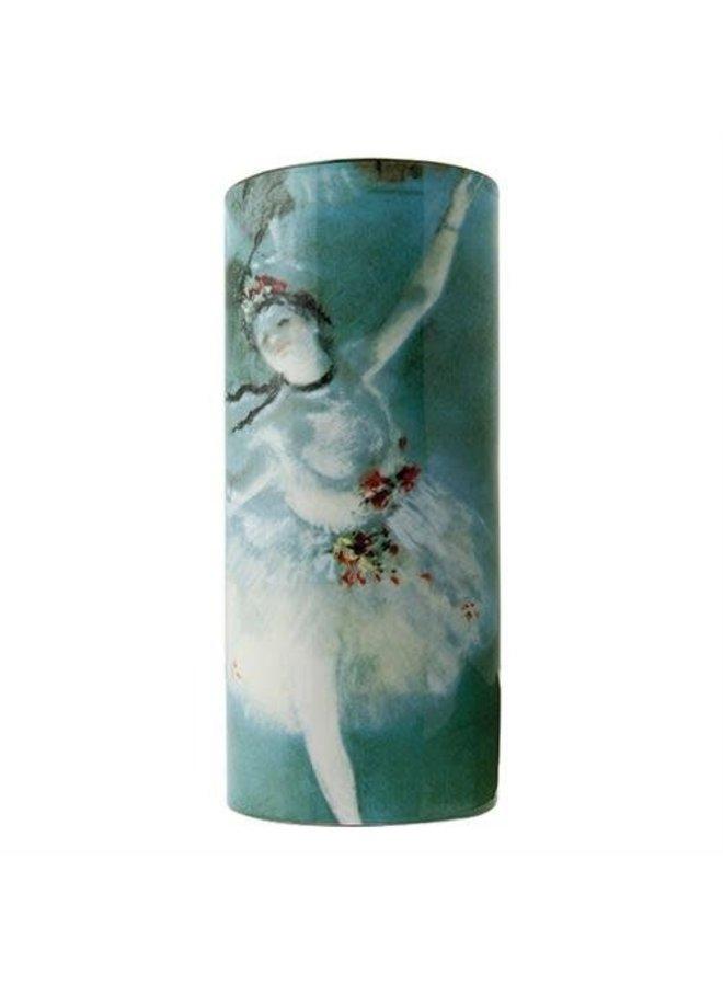 Degas Ballerina-Schattenbild-Kunst-Vase 037