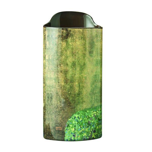 Klimt die Kuss-Schattenbild-Kunst-Vase 027