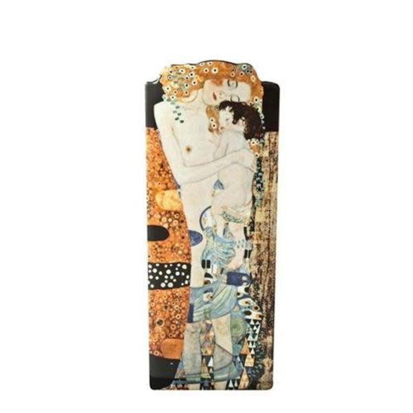 Klimt tres edades de mujer silueta jarrón de arte