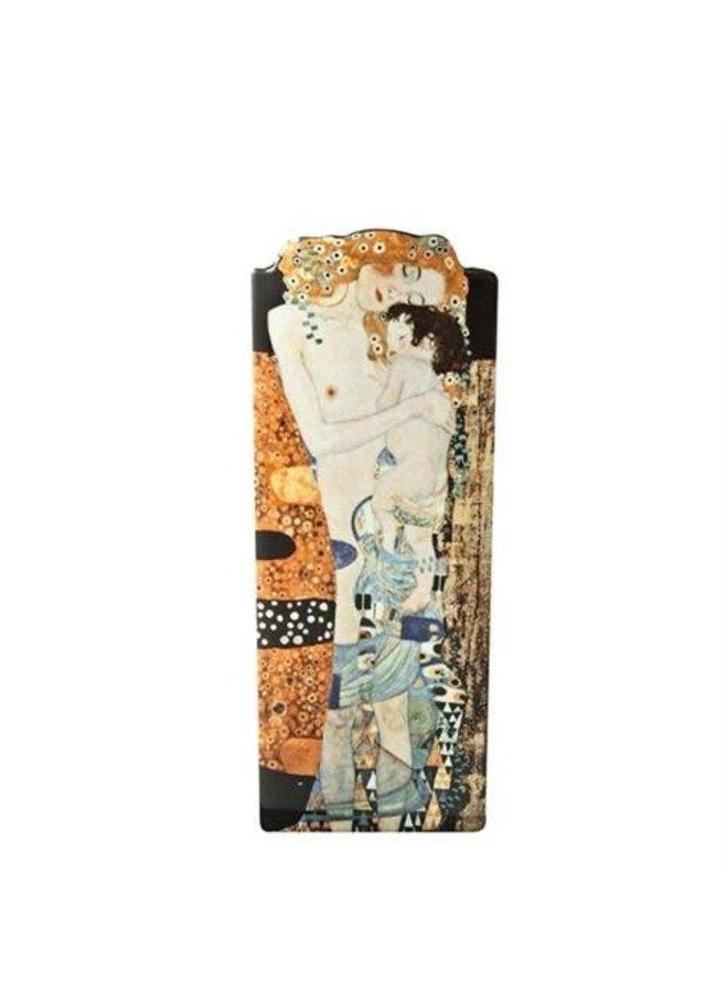 Klimt Drei Lebensalter Frau Silhouette Kunst Vase