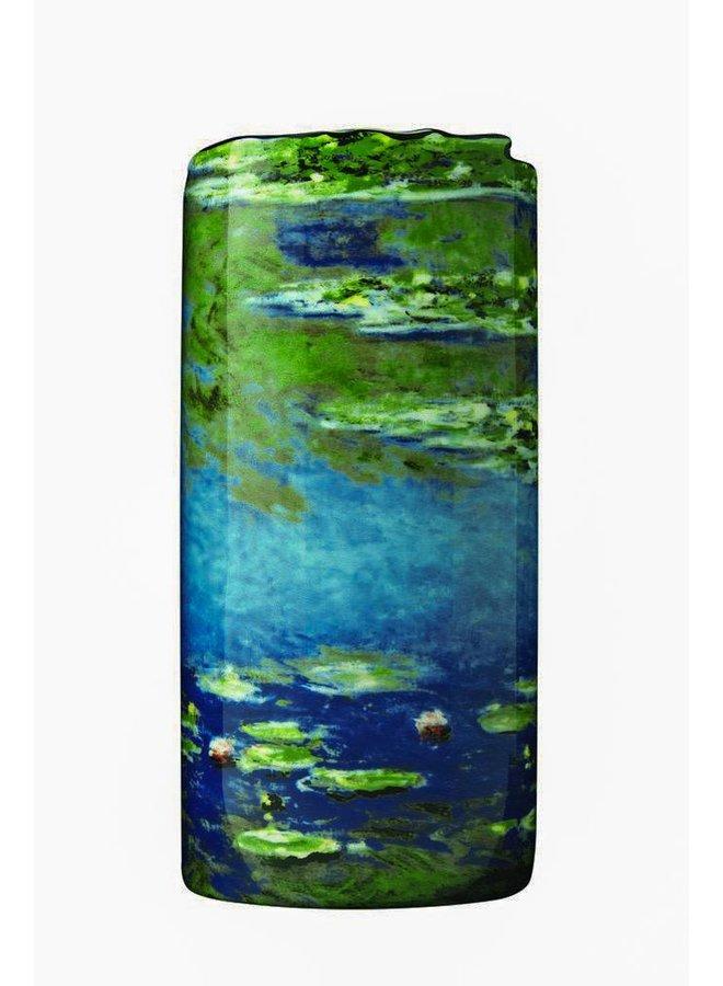 Monet Seerosen Silhouette Art Vase 033