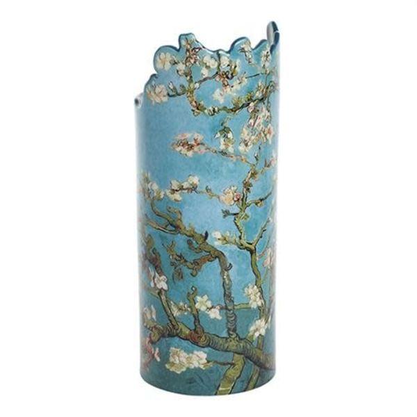 Van Gogh Almond Tree Blossom Silhouette Art Vase 034