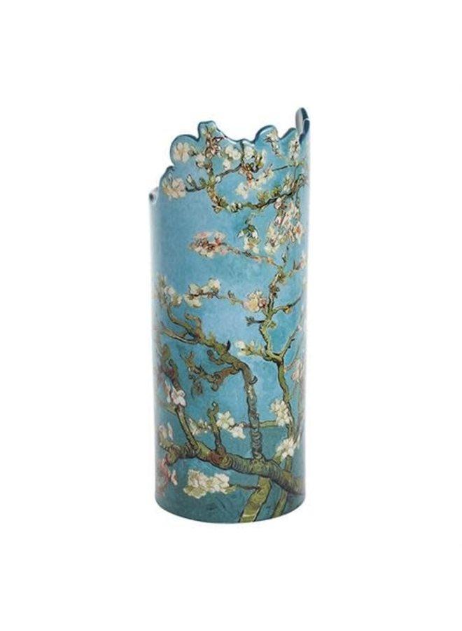 Van- Goghmandelbaum-Blüten-Schattenbild Art Vase 034