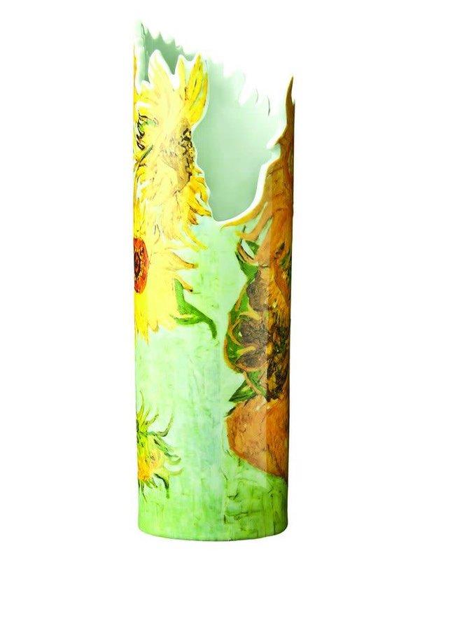 Van- Goghsonnenblumen-Schattenbild-Kunst-Vase 024