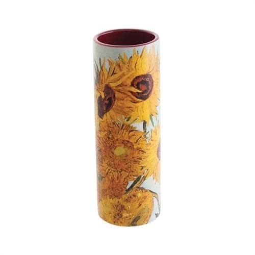 Dartington Crystal Ltd Van Gogh Sunflowers Small  Art Vase ceramic