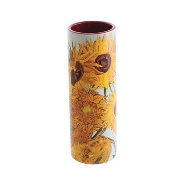 Van Gogh Sunflowers Small  Art Vase ceramic