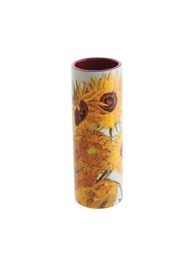Van Gogh Sunflowers Small  Art Vase ceramic
