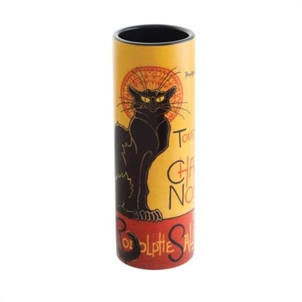 Chat Noie Steinlen Small  Art Vase