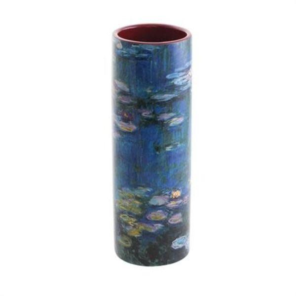 Monet Water Lilies Small  Art Vase
