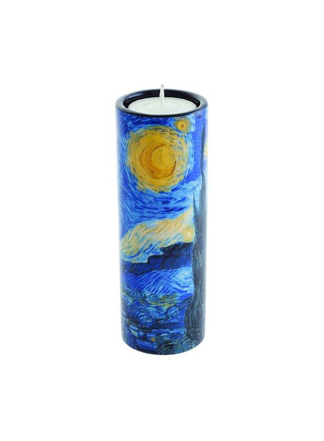 Van Gogh Stary Nachtteelichthalter aus Keramik