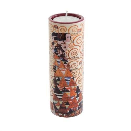 Dartington Crystal Ltd Klimt Erwartung Teelichthalter aus Keramik