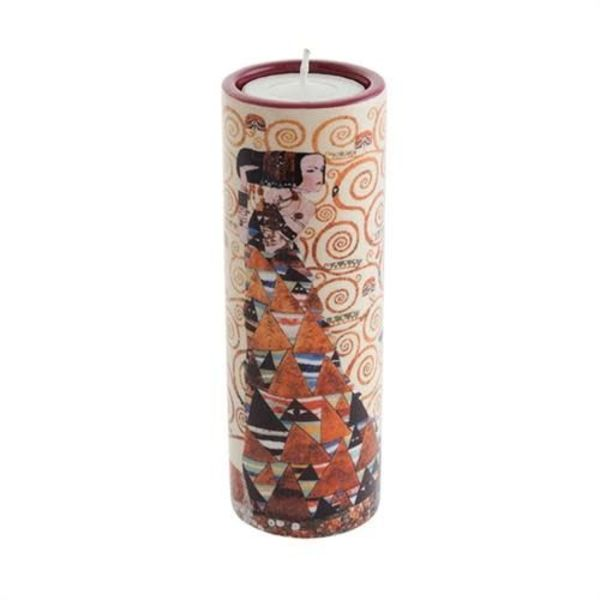 Klimt Erwartung Teelichthalter aus Keramik