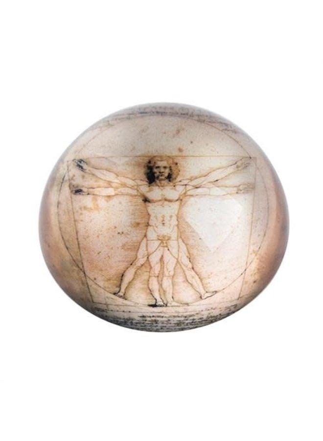 Da Vinci Vitruvian Man Paperweight