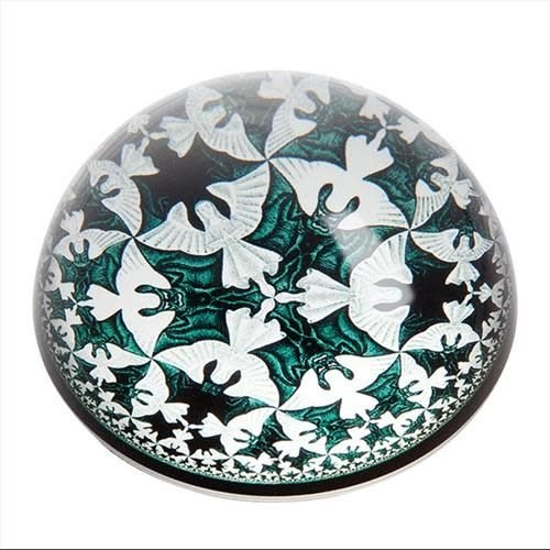 Dartington Crystal Ltd Escher Circle Limit IV Paperweight