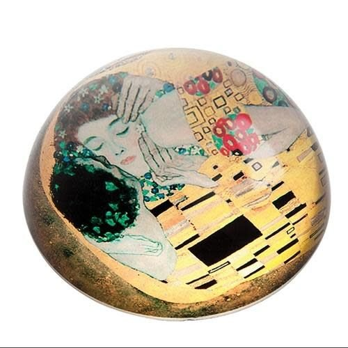 Dartington Crystal Ltd Klimt The Kiss Paperweight