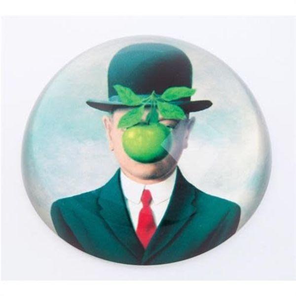 Magritte Le Fils De Homme Paperweight