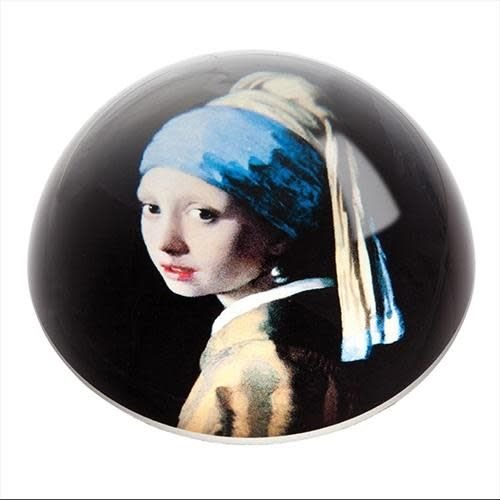 Dartington Crystal Ltd Vermeer Girl with Pearl Earring Paperweight