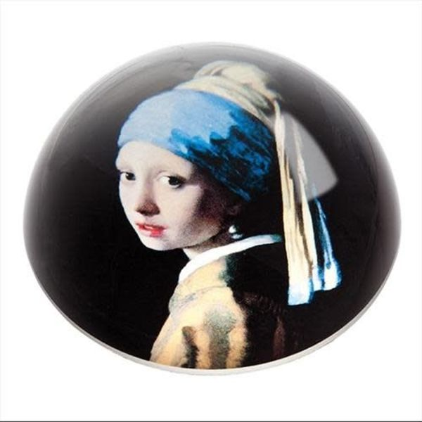 Vermeer Girl with Pearl Earring Paperweight