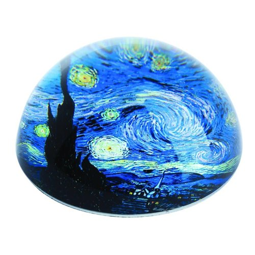 Dartington Crystal Ltd Van Gogh Starry Night Briefbeschwerer