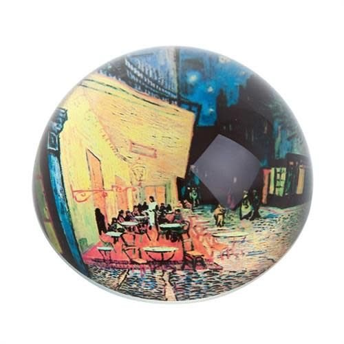Dartington Crystal Ltd Van Gogh Cafe Paperweight 084