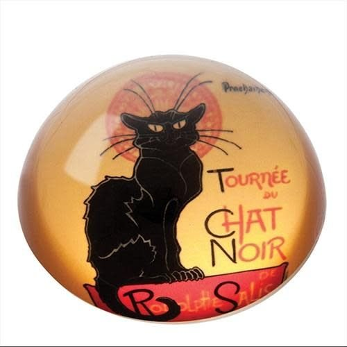 Dartington Crystal Ltd Steinlen Le Chat Noir Briefbeschwerer
