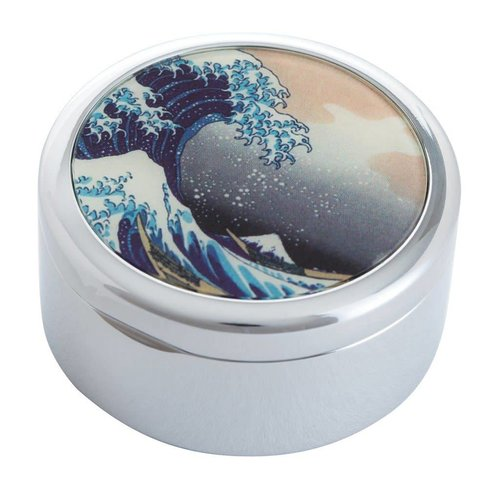 Dartington Crystal Ltd Hokusai The Great Wave Trinket Box