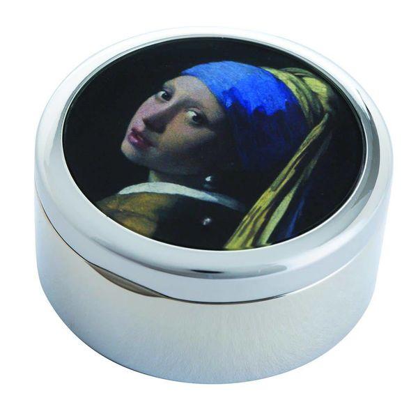 Vermeer Girl with Pearl Earring Trinket Box