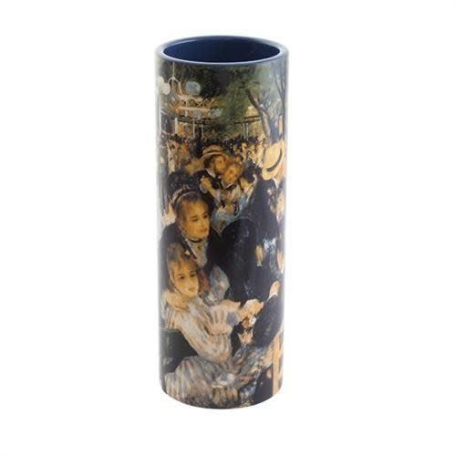 Dartington Crystal Ltd Renoir  Bal du Moulin Medium Art Vase ceramic