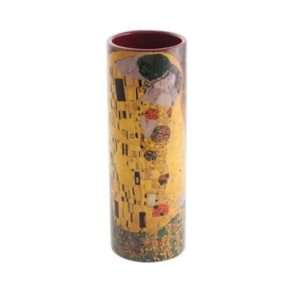 Klimt The Kiss Small  Art Vase