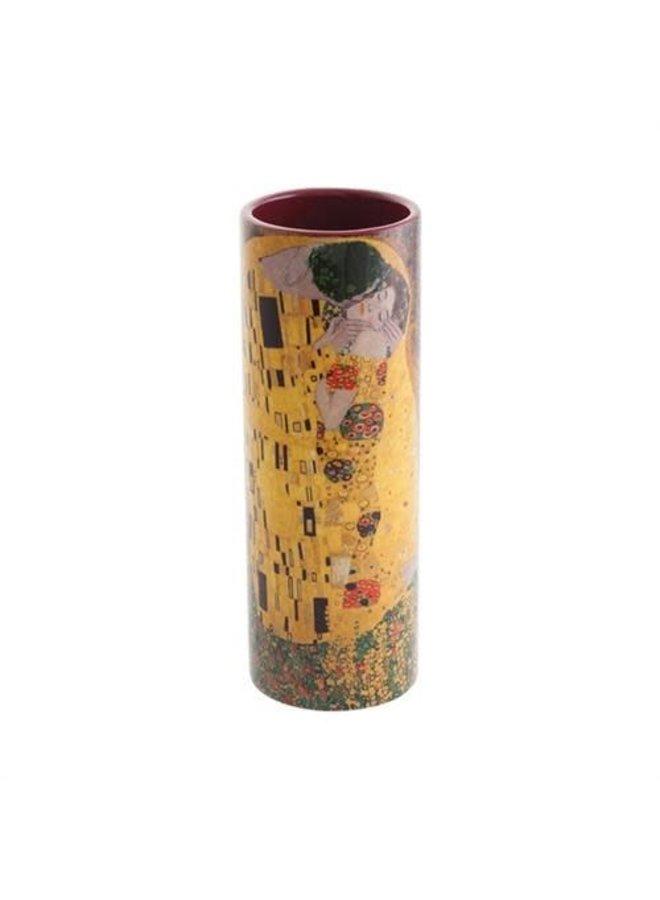 Klimt The Kiss Small  Art Vase