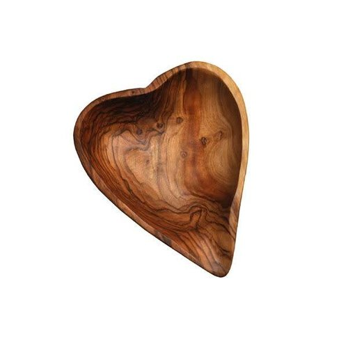 Naturally Med Olive Wood Heart dish
