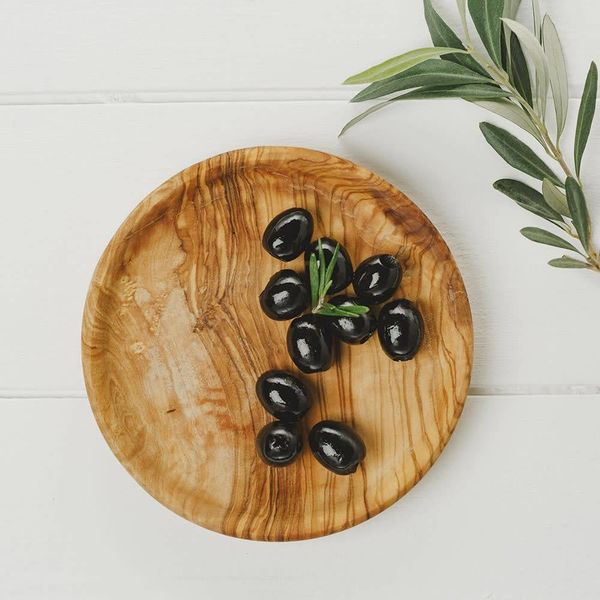 Round Olive Plate
